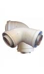Concentrique d'évacuation des gaz de combustion pour votre chauffe-eau instantané à gaz avec chambre de combustion fermée | Tuyaux d'évacuation des gaz | KIIPShop.fr